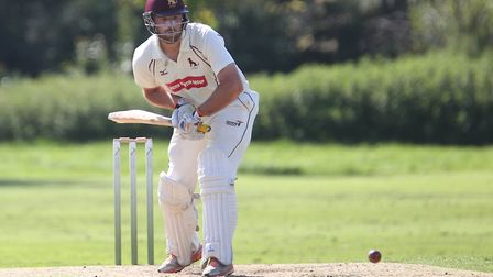 Sudbury captain Tom Huggins, who starred with bat and the ball as his side won the EAPL for the firs
