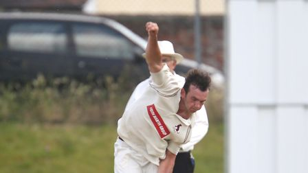 Sudbury bowler Dustin Melton, who was the leading wicket-taker in the EAPL with 43 wickets during th