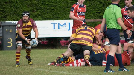Acrion from Ipswich YM's big win over Stowmarket Seconds. Picture: SUSAN PARADINE