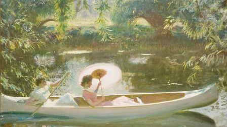 September Afternoon (1939)) by Sir Alfred Munnings which features in the new Munnings and the River