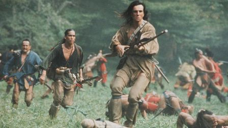Daniel Day Lewis stars in Michael Mann's revisionist 'western' The Last of the Mohicans. Photo: Warn