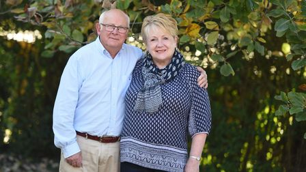 Chris and Judith Studd are celebrating their 50th wedding anniversary. Picture: GREGG BROWN