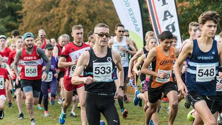 Runners into their stride at the annual Martlesham event. Picture: PAVEL KRICKA