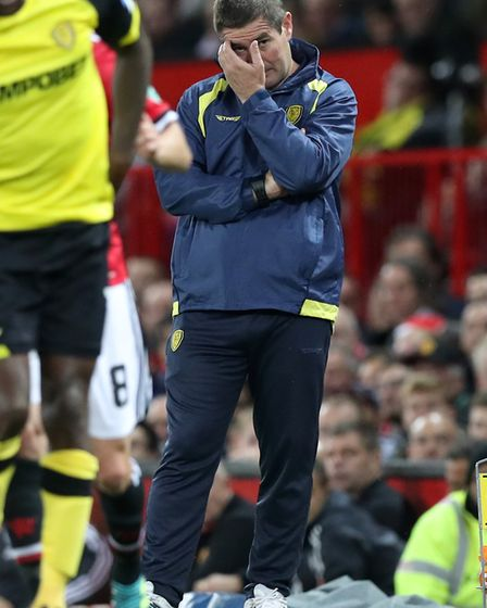 Burton Albion manager Nigel Clough faces a tough task to keep the Brewers in Championship. Photo: PA