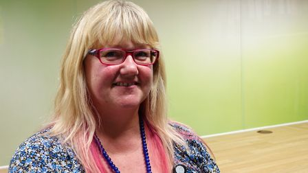 Cherie Smith, bereavement and psychosocial manager and safeguarding lead, at St Helena Hospice. Pict