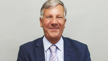 Bob Baggalley, who retired as chief executive of the Colchester Business Enterprise Agency (Colbea)