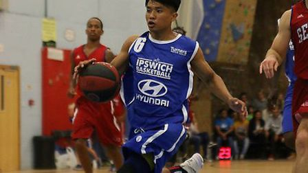 Rabi Rai led Ipswich with 23 points aginst the Derbyshire Arrows. Picture: NICK WINTER
