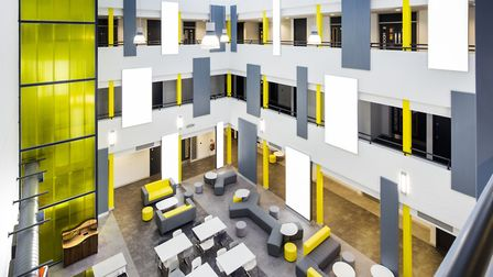 Inside the Ipswich Waterfront Innovation Centre. Picture: Phil Grayston