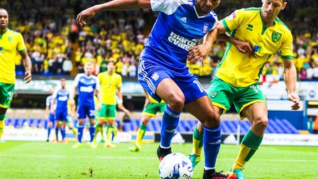 Ipswich Town host rivals Norwich on October 22. Picture: STEVE WALLER
