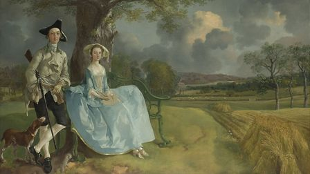 Thomas Gainsborough, Mr and Mrs Andrews, about 1750 © The National Gallery, London