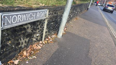 Norwich Road in Wymondham. Picture: PETER WALSH
