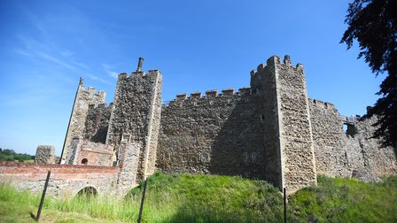 The awards will be presented in Framlingham Castle. Picture: GREGG BROWN