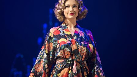 Emma Williams in Mrs Henderson Presents - one of the limited runs now populating London's West End