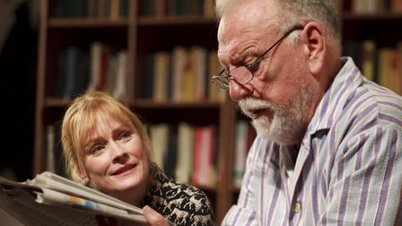 Lia Williams and Kenneth Cranham in The Father. One of the limited runs now populating London's West