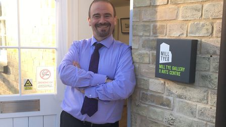Peter Rumsey, who has launched the Mill Tye Gallery and Arts Centre. Picture: PEPTALK PR
