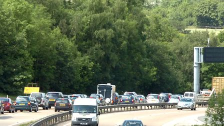Where can you expect to find hold-ups on major roads this week? Stock picture: ANDY ABBOTT