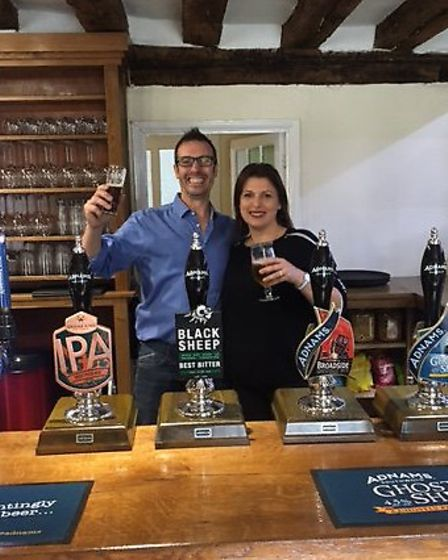 New landlords Stuart and Debbie Fraser. Picture: KING'S HEAD