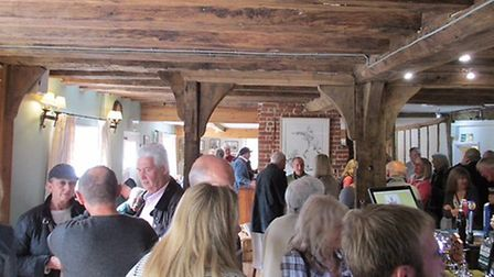 Inside the renovated pub. Picture: KING's HEAD