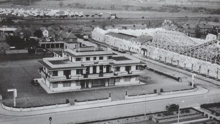 Felixstowe's Cavendish Hotel in its hey day