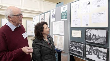 Framlingham Museum celebrated its 60th anniversary with displays of town�'s history on Saturday. Pic