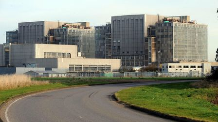 The decommissioned Bradwell nuclear power station. Picture: ANDREW PARTRIDGE