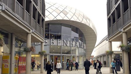 The Arc shopping centre in Bury St Edmunds. Picture: ARCHANT