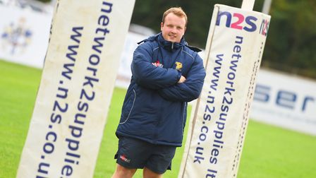 Bury St Edmunds Rugby Club groundsman, Ollie Deeming, has been nominated for a national award. Pict