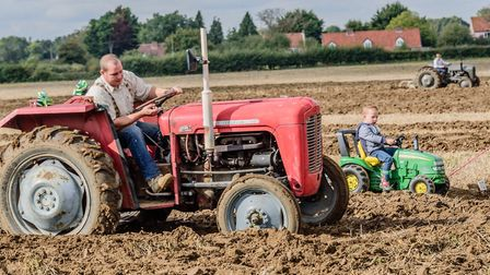 The 15th annual ploughing match held on the Ampton Hall estate, near Bury St Edmunds. Picture: CONTR