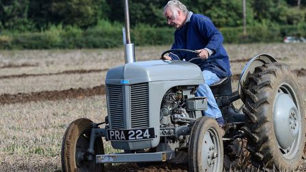The 15th annual ploughing match held on the Ampton Hall estate, near Bury St Edmunds. Picture: JOHN