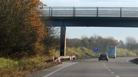 Stock image of the A120 in the Ardleigh area. Picture: SIMON PARKER