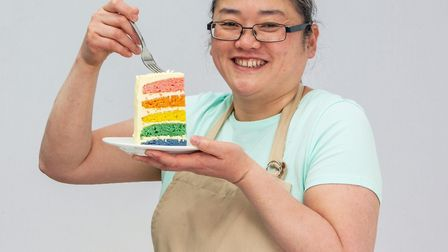 Yan, who became the latest contestant to be voted off The Great British Bake Off. Picture: Mark Bour