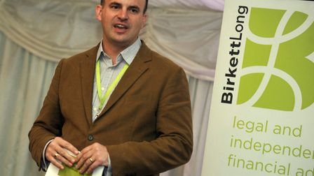 Mark Jarman-Howe, chief executive of St Helena Hospice. Picture: SU ANDERSON