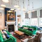 Inside the new-look Swan hotel in Southwold. Picture: James Bedford