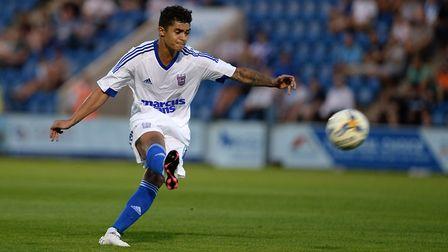 Cameron Stewart didn't start a competitive game during his three years at Ipswich Town. Photo: Pagep