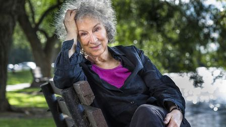 Margaret Atwood who delivered the keynote speech at this year's Flipside festival. Photo: Liam Sharp