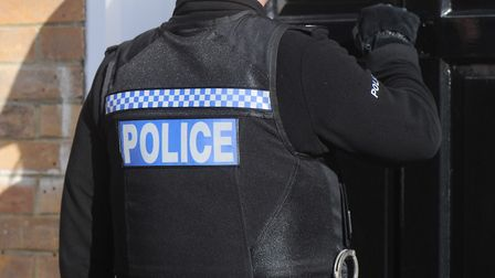 Police have warned people to be wary of scammers claiming to be officers after a Suffolk couple lost