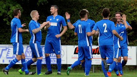 Brantham Athletic have won six games ina row. Picture: ANDY ABBOTT