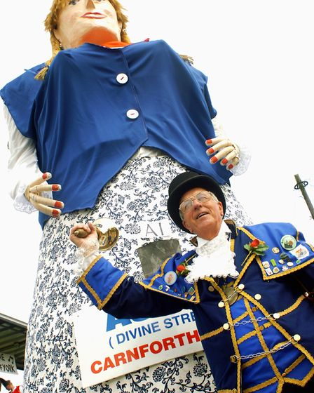 Jimmy led the Felixstowe Carnival procession many times. Picture: LUCY TAYLOR