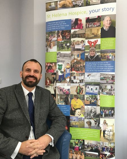 Mark Jarman-Howe, chief executive of St Helena Hospice. Picture: WILL LODGE/ARCHANT