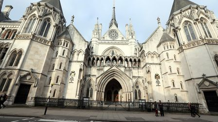 The High Court in London, where David and Ann Usher appealed to have their home saved from demolitio
