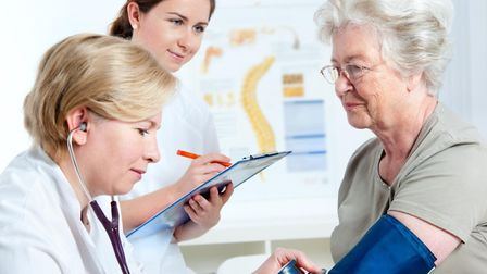 Stock image of a GP. Picture: PRESS ASSOCIATION