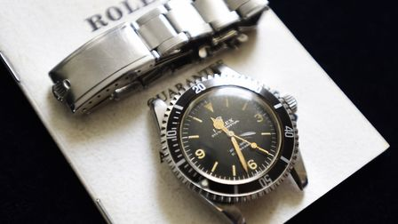 An auction house in Martlesham has sold a Rolex watch for £250,000 - it is a record-breaking amount,