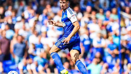 Ipswich Town defender Adam Webster could return to the starting line-up at Sheffield United. Photo: