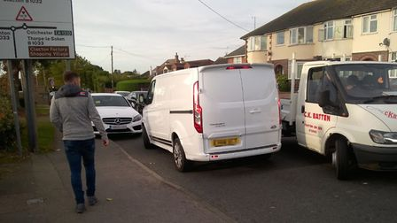 Tendring District Council carries out enforcement action in Kirby Cross over inconsiderate parking n