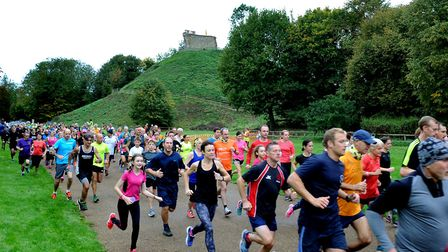 The first Clare Castle Parkrun, staged two weeks ago on September 30. Picture: ANDY ABBOTT