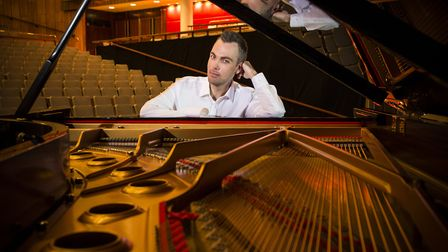 Pianist Nicholas McCarthy will be performing at this year's Ipswich School Festival of Music. Photo: