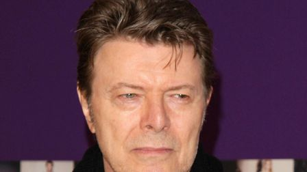 David Bowie, the innovative and iconic singer whose illustrious career lasted five decades. Picture: