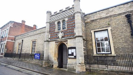 The Guildhall, Bury St Edmunds, has been removed from the register. Picture: GREGG BROWN