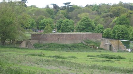 The transmission block at Bawdsey Manor has been removed from an at risk register. Picture: ARCHANT