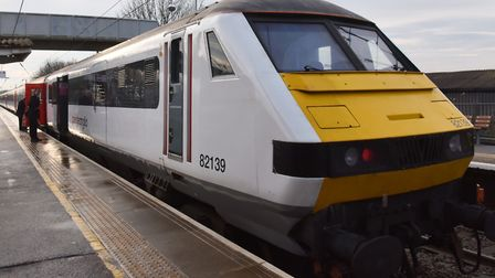 Current Greater Anglia trains will be phased out in two years' time. Pic: Sonya Duncan.